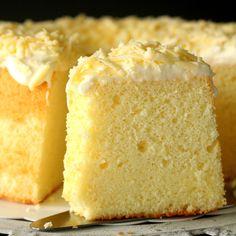 Parmesan Chiffon Cake