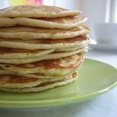 Tasty Pancakes, Pancakes And Waffles, Fluffy Pancakes, Best Breakfast, Breakfast Recipes, Morning Breakfast, Brunch Recipes, Recipes