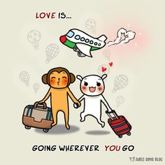 Let's go honey ! We go travelling @donychristian