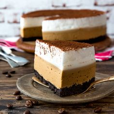 Great ways to make authentic Italian coffee and understand the Italian culture of espresso cappuccino and more! Cappuccino Machine, Cute Cakes, Mellow Yellow, Something Sweet, No Bake Desserts, Mocha, Oreo, Baking Recipes, Delish