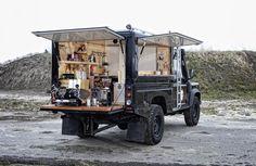 Coffee Foodtruck /Landrover Voldaan.com