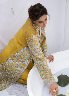 Pakistani Party Wear, Pakistani Dress Design, Pakistani Outfits, Velvet Dress Designs, Dress Neck Designs, Wedding Dresses For Girls, Party Wear Dresses, Wedding Outfits, Latest Pakistani Fashion