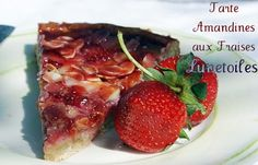 tarte amandines aux fraises