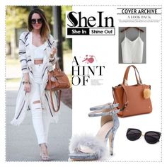 """SheIn"" by munevera-berbic ❤ liked on Polyvore featuring shein"