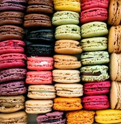 macarons.LADURÉE. I love it when food looks as beautiful as it tastes- i believe the french have conquered this. nothing in their lives isn't visually pleasing.