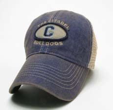 4826d122edbcf Citadel Bulldogs Legacy Old Favorite Adjustable Mesh Hat Sport Outfits