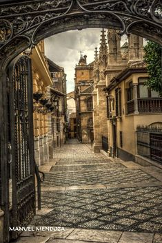 Granada, Spain, Places To Visit, Landscape, Urban Sketching, Antique Photos, Cities, Scenery, Drawings