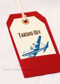 a plane ticket to colorado as RSVP cards! Cool idea!