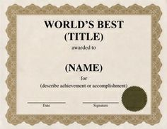 Geographics Paper, Award Certificates, Printable Design Stationery, School and Office Supplies with Free Customization Award Certificates, Certificate Templates, Award Template, Office Stationery, School Office, Printable Designs, Templates Free, Worksheets, Diy And Crafts