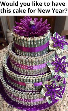 25th Birthday Cakes, Birthday Cakes For Teens, Diy Birthday, Birthday Gifts For Her, Birthday Presents, Birthday Parties, 30th Party, 25th Birthday Ideas For Her, Birthday Money