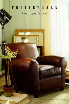 My first purchase when I worked at Pottery Barn...I love the Manhattan Chair!