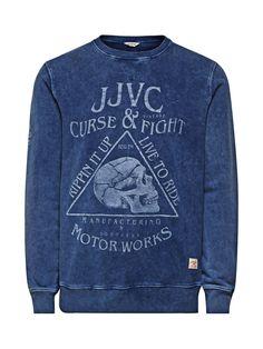 OVERDYED CREW NECK SWEATSHIRT - Jack   Jones Jack Jones, Crew Neck  Sweatshirt, Men 9d1e6727bc