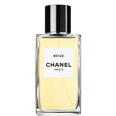 LES EXCLUSIFS DE CHANEL - BEIGE:An intense powdery floral of natural elegance and grace -- eponymous for Mademoiselle Chanel's favorite colour. Created by CHANEL Master Perfumer Jacques Polge in2008, a blend of new white petals and yellow gold flowers are highlighted by hints of honey that reveal its discreet sensuality.