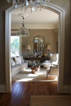 Beautiful archway moldings- My Sweet Savannah