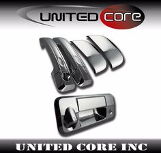 For 07 08 09 10 11 12 13 Gmc Sierra Chrome Tailgate Cover W//O Kh