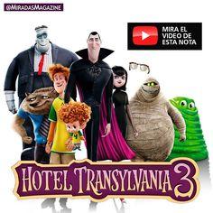 Entretenimiento\ Ya viste el vídeo de Hotel Transilvania 3 de Sony Pictures Animation??? . Monstruos de vacaciones y Dracula & Co. irán a un crucero! . Mira el video en miradas.com.ve [enlace de bío]