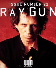 David Carson: Ray Gun / Keith Richards