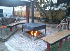 fire pits with chimney – Fire pit ideas