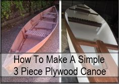 How To Make A Simple Plywood Canoe