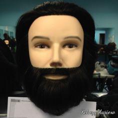 First beard cut!