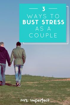 Stress can affect our health and relationships. Here's how to manage it in a healthy way as a couple. 1d