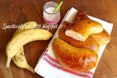 Panini allo yogurt e banane