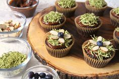 Gluten-Free Vegan Chocolate Cashew Cream Frosted Easter Cupcakes   The Plant Philosophy