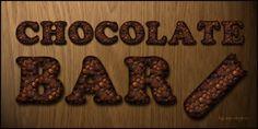 Chocolate bar style by sonarpos