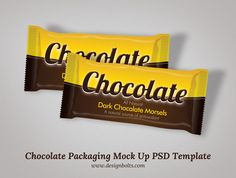 Free Chocolate Packaging Mockup PSD Template Free Chocolate Packaging Mock Up…