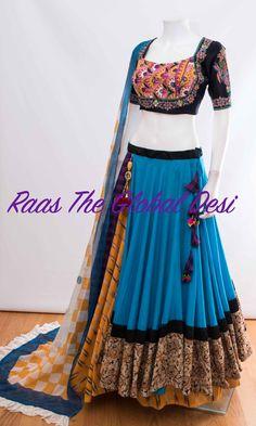 Cotton Lehenga, Half Saree Lehenga, Indian Lehenga, Lehenga Blouse, Sari, Dress Indian Style, Indian Dresses, Indian Outfits, Indian Clothes