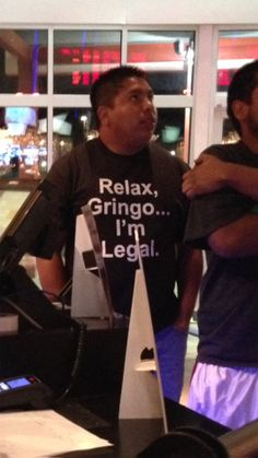 You better relax…