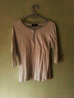 Camisa de rayas manga larga
