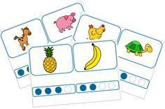 phonologie : compter les syllabes, jeux autocorrectifs - La classe d'Eowin