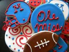 Ole Miss Cookies...
