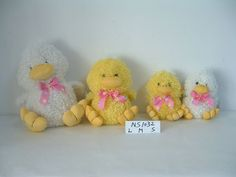 Plush Duck Toys for Easter!