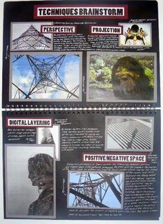 AS Photography, Black Sketchbook, Techniques Brainstorm, ESA- Relationships… A Level Photography, Photography Lessons, Photography Projects, Book Photography, Amazing Photography, Distortion Photography, Narrative Photography, Photography Composition, Photography Equipment