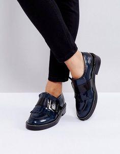 4361a95620941c ASOS MASTER PIECE Leather Flat Shoes at asos.com