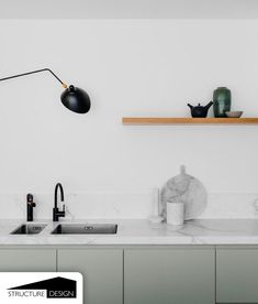In the new edition of Adore Home, we explored the hottest kitchen trends stepping it up in the design stakes this year. Here's a look at our top five favourite trends for Words Jacqui Greig + Loni Parker Home Interior, Interior Design, Pastel Interior, Turbulence Deco, Kitchen Colour Schemes, Minimalist Kitchen, Kitchen Modern, Green Kitchen, Decorating Kitchen