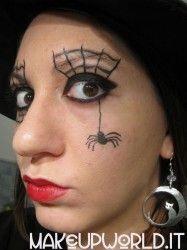 MakeUp Tutorial – Ragnatela (Halloween) #halloween #carnevale #makeup #trucco #ragno #ragnatela #occhi #tutorial #makeuptutorial