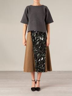 Marni Sequin Skirt - L'eclaireur - Farfetch.com