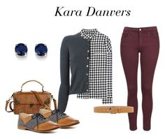 Kara Danvers (Supergirl) Inspired Outfit by vintageuniquefashion4u on Polyvore featuring polyvore, fashion, style, P.A.R.O.S.H., Haider Ackermann, Topshop, Restricted, Kevin Jewelers, Michael Kors, vintage, clothing, VintageInspired, TV and supergirl