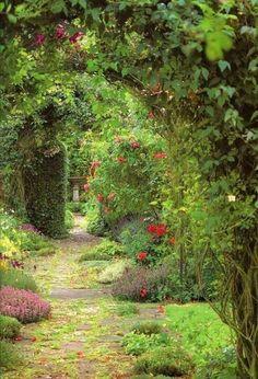 Secret garden ... lovely.