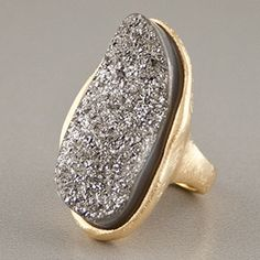 Arafina - Druzy Ring by Marcia Moran.