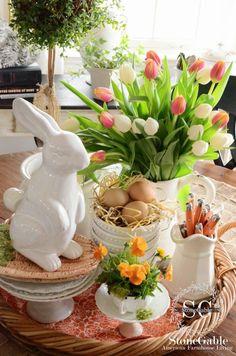 Farmhouse Style Easter Decor Ideas