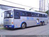 Ônibus Flexa de Prata 001, Tecnobus Tribus II, Scania K112CL, foto em São Paulo - SP. Por Adrianno Sakamoto.