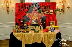 GreyGrey Designs: {My Parties} Jennas Red Carpet Hollywood Birthday Party