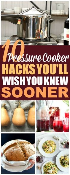 These 10 pressure cooker recipes and ideas are THE BEST! I'm so happy I found these GREAT home hacks! Now I have some great ways to use my pressure cooker for meals! #pressurecooker #lifehacks #homehacks #dinnerideas