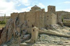 Castillo de Loarre. Huesca. Aragón. España. @SKdualsim