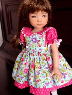 My darling dolls: La jolie robe du samedi