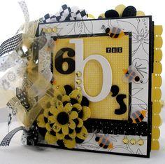 #papercraft #scrapbook #minialbum 6 B's Paper Bag Album